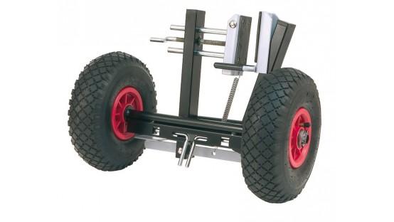 Soporte prensor con rueda VIRUTEX SPR770T