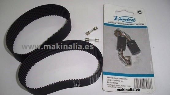 Kit mantenimiento VIRUTEX TM33L y TM33W
