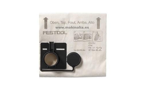 Bolsas aspirador FESTOOL CT-11