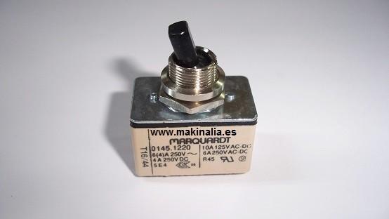 Interruptor Virutex AB11, AB11C, C93N, CR94D, FP92J, FR117N, FR29C, FR56E, FR92D, O81N, RA17D, RO56D, RT88C, RZ70M, Z81N,
