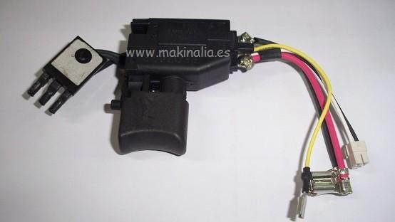 Interruptor atornillador Makita BDF-446-RFE y BDF-456RFE
