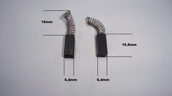 Escobillas Bosch amoladora taladro lijadora caladora cortasetos