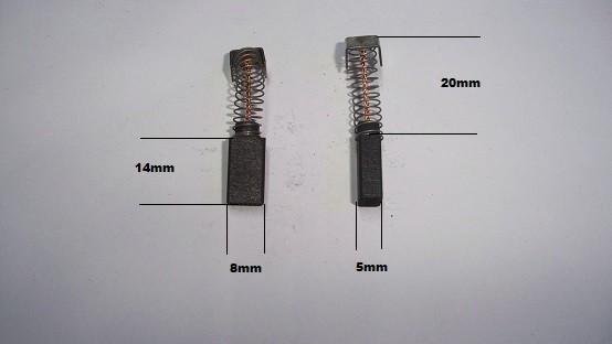 Escobillas AEG taladro martillo caladora lijadora cortasetos