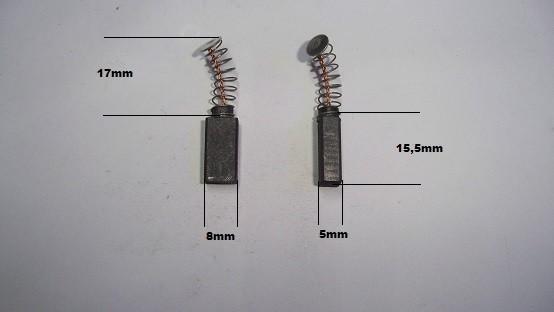 Escobillas Bosch martillo amoladora lijadora sierra cepillo