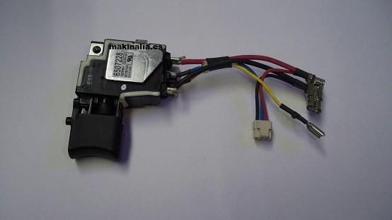 Interruptor atornillador Makita BTD134