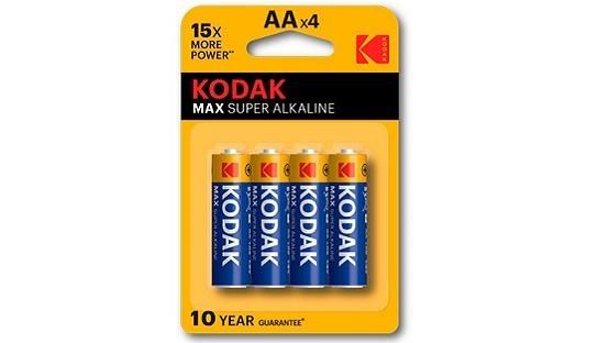 Pila AA kodak Max Super alkalina
