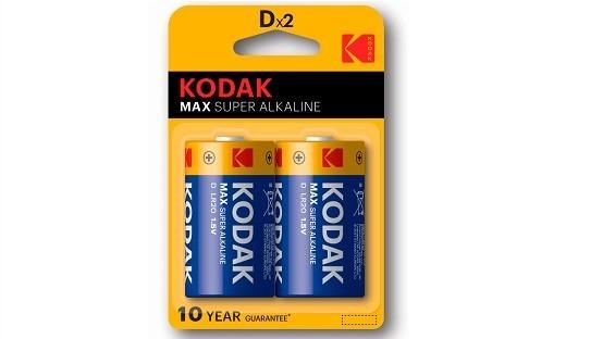 Pila LR20 kodak Max Super alkalina