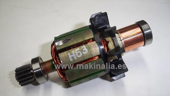 Motor atornillador Makita DHP458 y BDF458