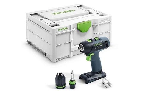 Taladro atornillador a batería T 18+3-Basic