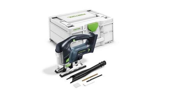Sierra caladora FESTOOL a batería CARVEX PSBC 420 EB-Basic SIN BATERIAS
