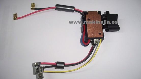 Interruptor atornillador Makita HP457D, DF457