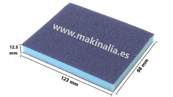 Lija esponja 98x123x12,5 grano 100