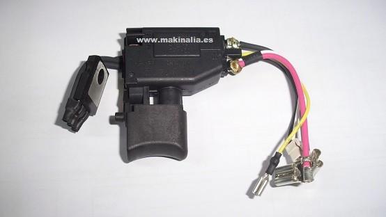 Interruptor atornillador Makita BDF456 y BHP446