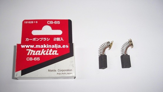 Escobillas Makita CB65