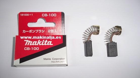 Escobillas Makita cepillo 1100