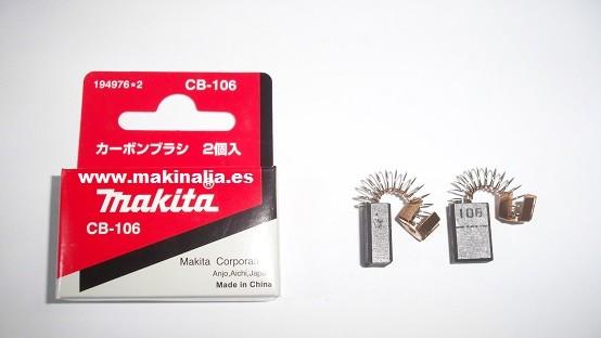 Escobillas Makita CB106