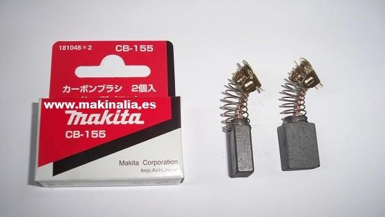 Escobillas Makita CB155