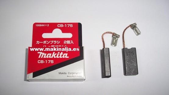 Escobillas Makita CB175