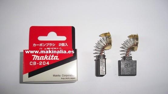 Escobillas Makita CB204