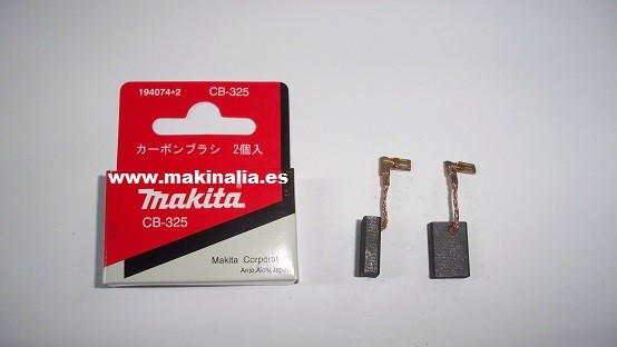 Escobillas Makita CB325