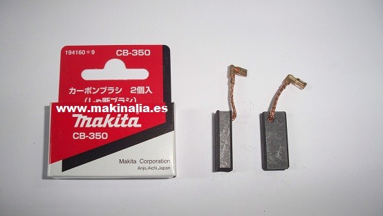 Escobillas Makita CB350