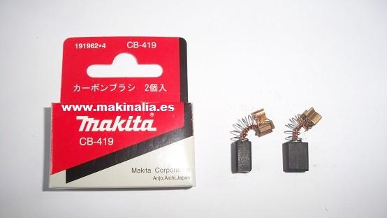 Escobillas Makita cb419