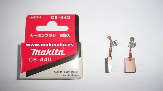 Escobillas Makita CB.440.