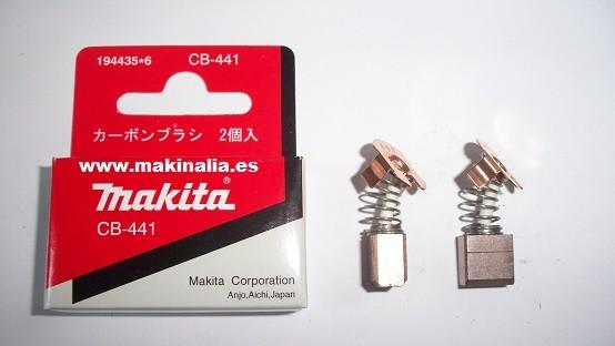 Escobillas Makita CB441