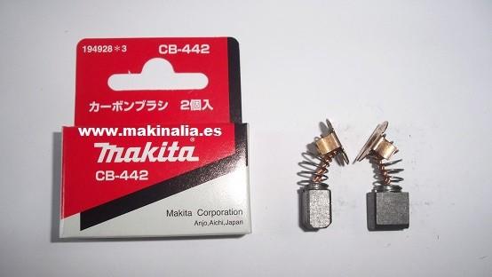 Escobillas Makita CB442