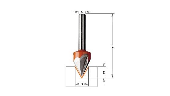 Fresa laser point 958.001.11