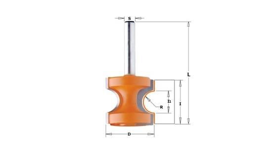 Fresa semicircular 3,2mm 954.002.11