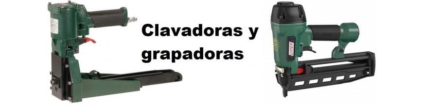 Clavadoras y grapadoras neumaticas.