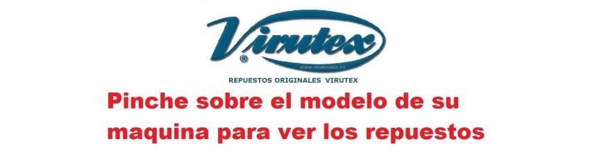 Repuestos Virutex por modelo de maquina